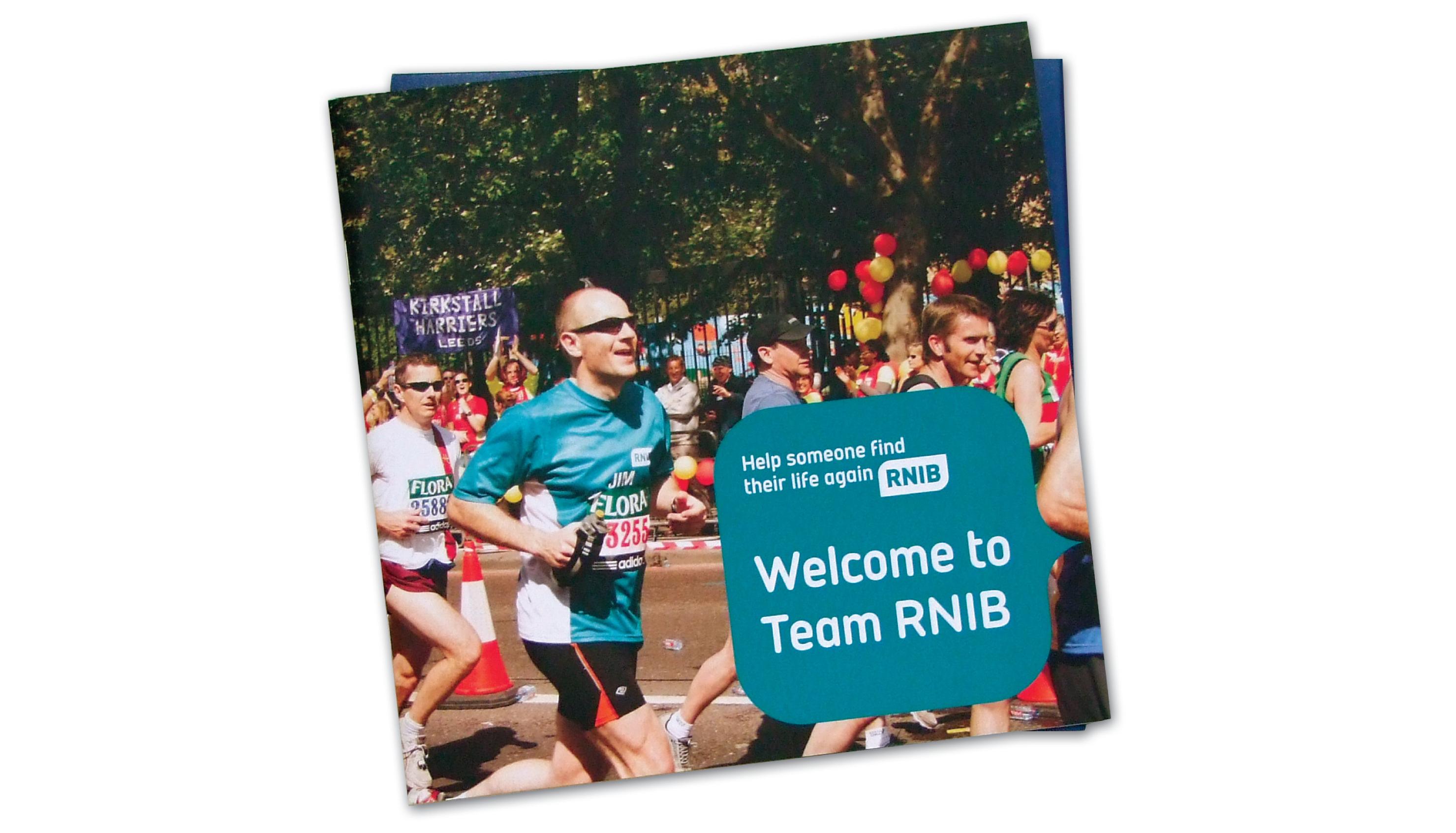 RNIB fundraiser's pack
